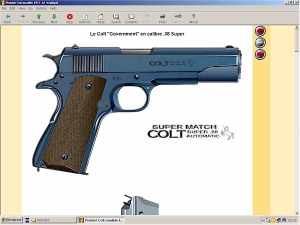 pistolet colt 1911-A1 expliqué