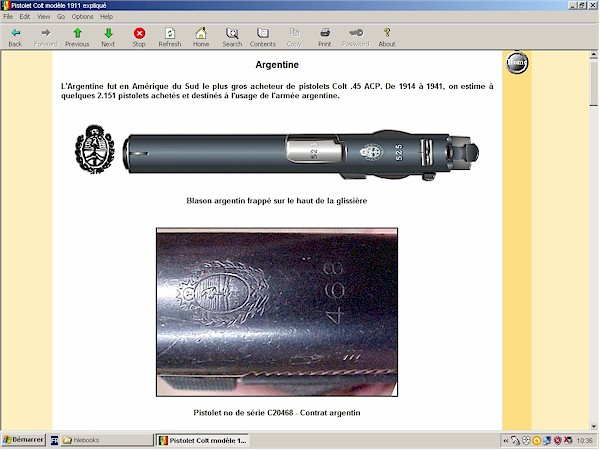 pistolet colt 1911 expliqué