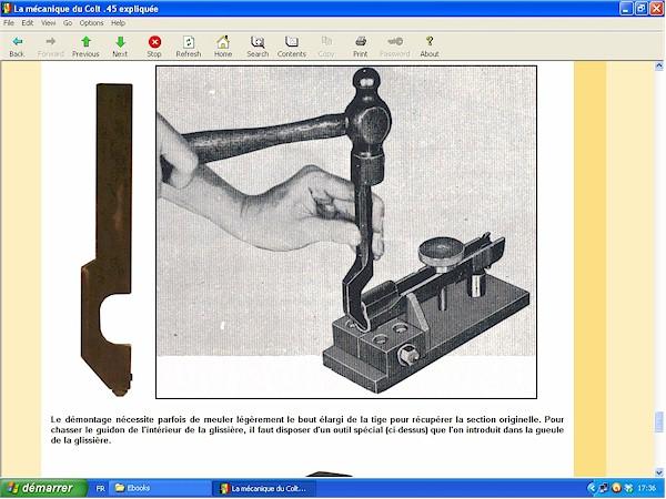 Mécanique du Colt .45 - 1911 - 1911 A1