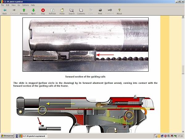 CZ-38 pistol