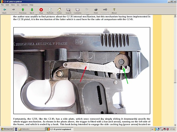CZ-45 pistol