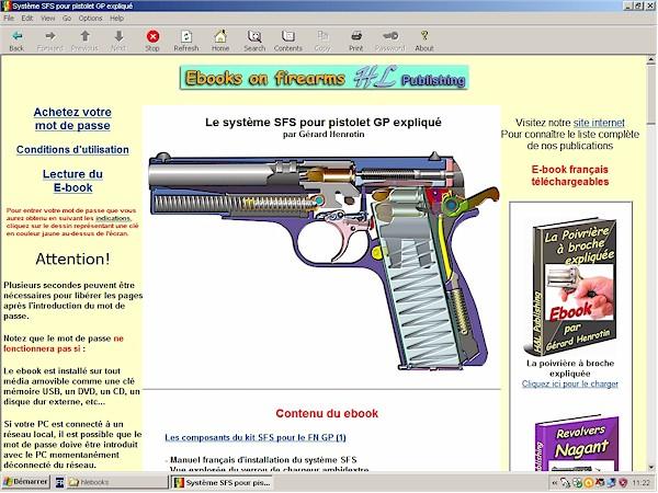Le système SFS pour pistolet GP expliqué
