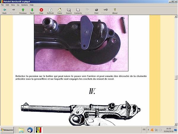 pistolet Borchardt C93 expliquée