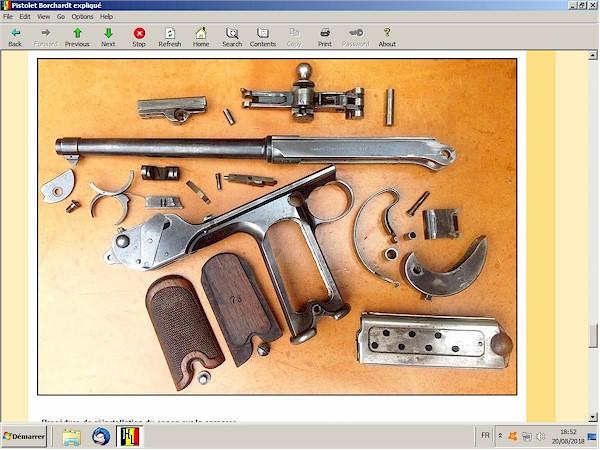 pistolet Borchardt C93