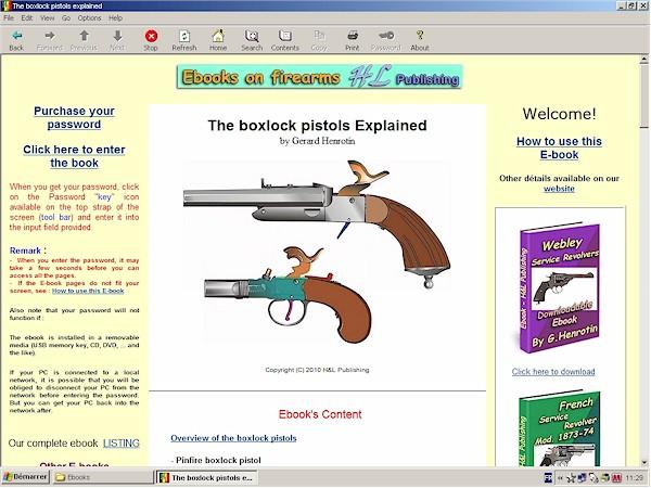 boxlock pistols