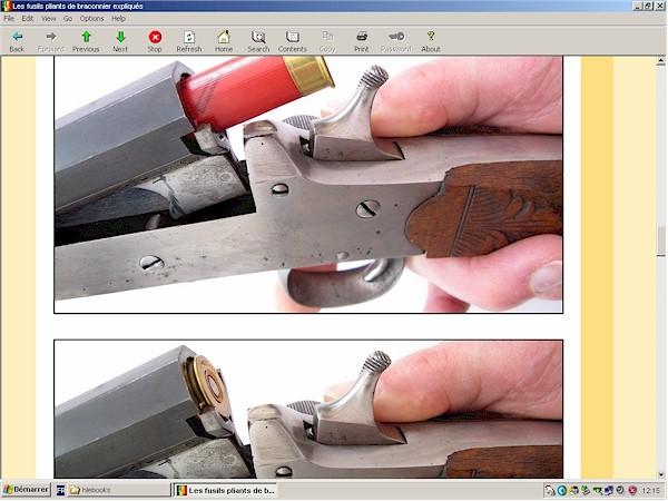 Fusil pliant belge leclercq (braconnier)