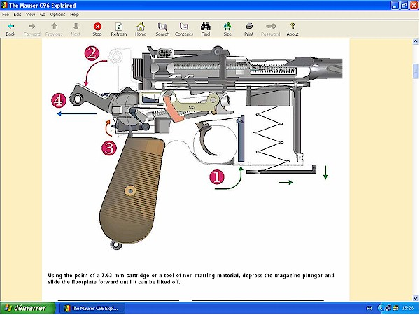 The Mauser C96 Explained English Ebook By Gerard