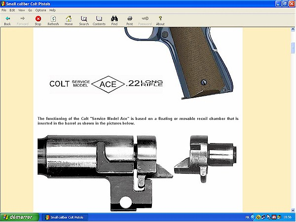 Colt .22 Woodsman and other models