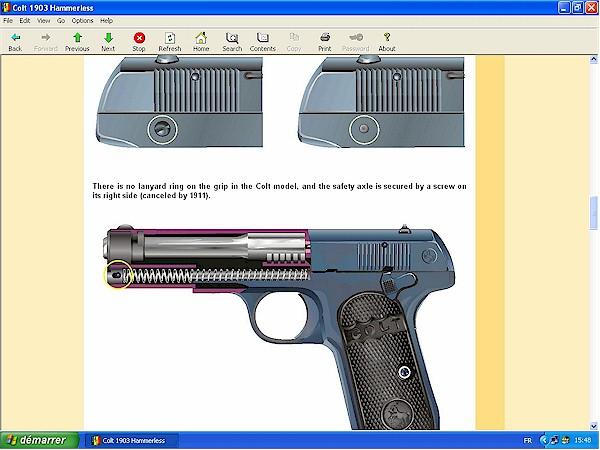 Colt 1903 1906 hammerless