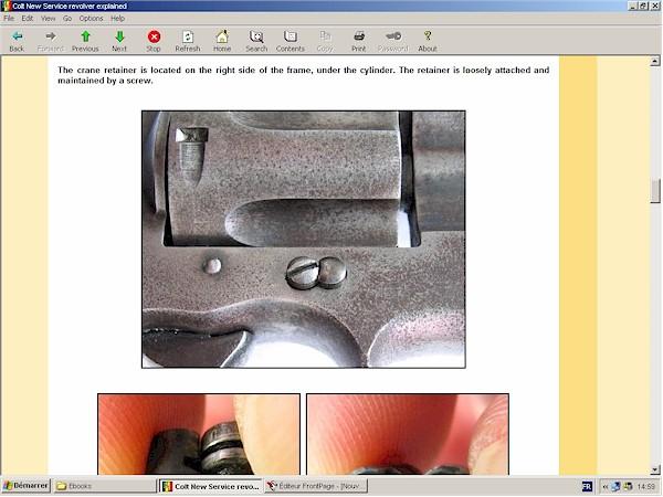 Colt New Service revolver