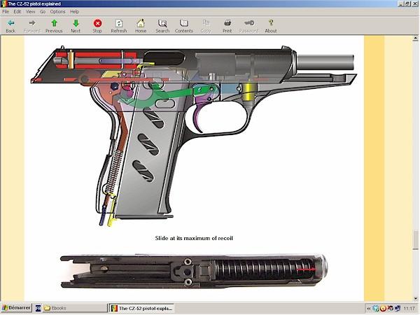 CZ-52 (VZ-52) pistol