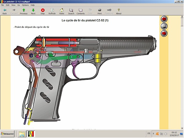 Pistolet CZ-52 expliqué