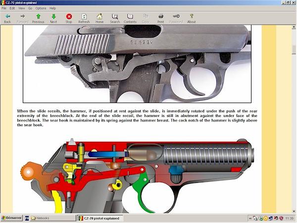 CZ-70 (VZ-70) pistol