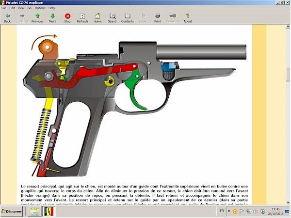 Pistolet CZ-70 (CZ-50) expliqué