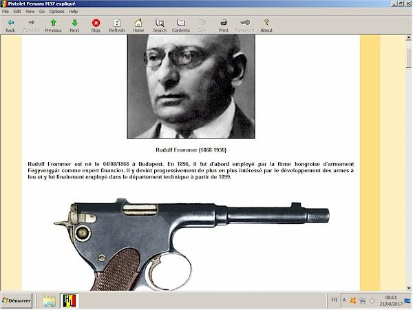Pistolet Femaru M37 expliqué