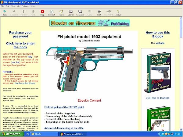 SFN pistol model 1903
