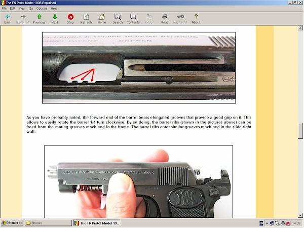 FN 1906 pistol