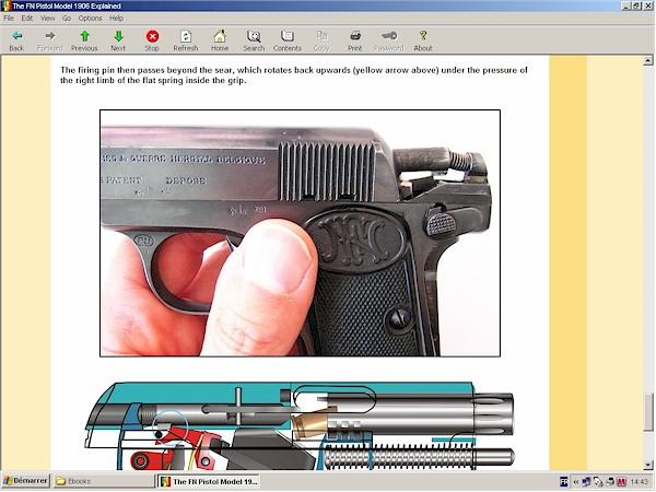 FN 1906 Browning pistol