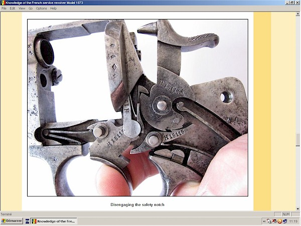 French Service Revolver Mod. 1873-74 Chamelot Delvigne
