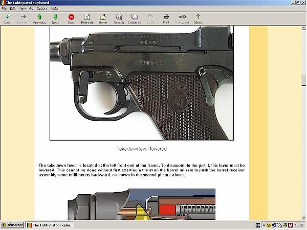 Swedish lahti pistol
