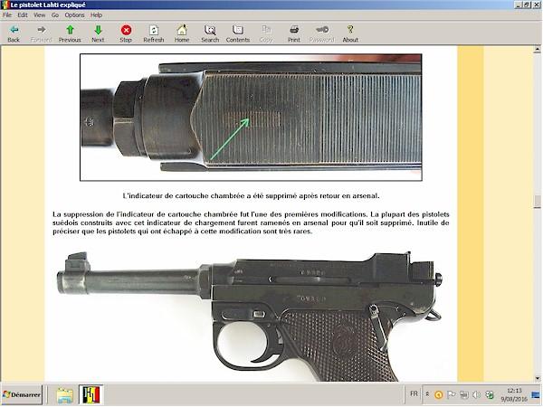 pistolet Lahti expliqué