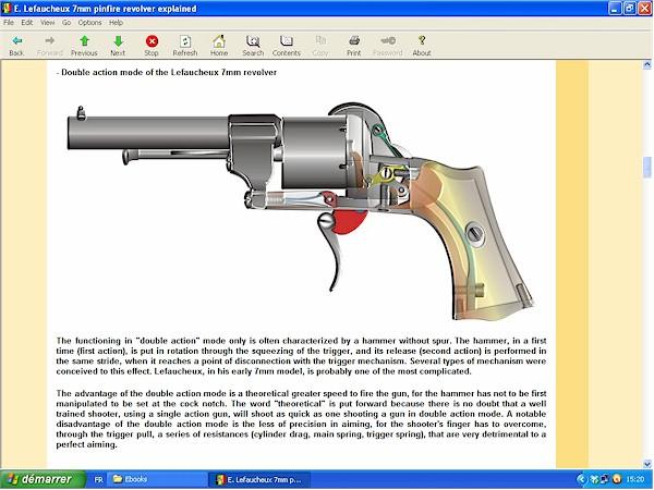 Lefaucheux 7mm pinfire revolver
