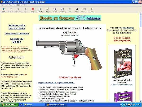 Le revolver Lefaucheux double action expliqué - ebook Im-00