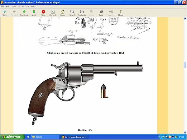 Le revolver Lefaucheux double action expliqué - ebook Im-01