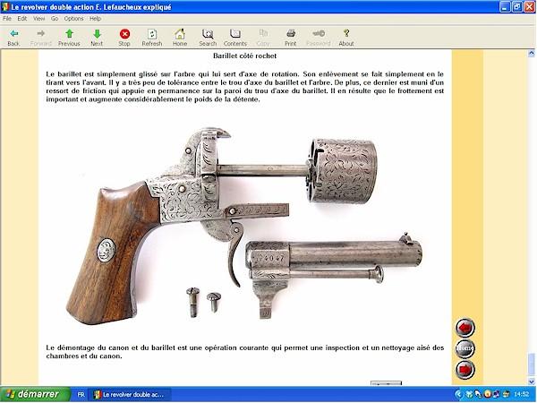 Le revolver Lefaucheux double action expliqué - ebook Im-03
