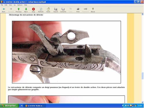 Le revolver Lefaucheux double action expliqué - ebook Im-06