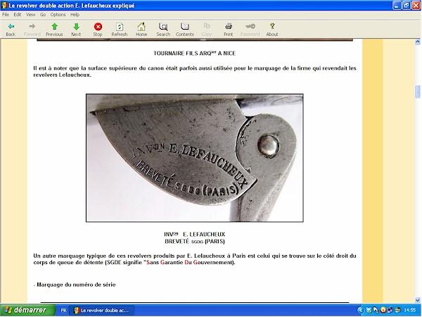Le revolver Lefaucheux double action expliqué - ebook Im-08