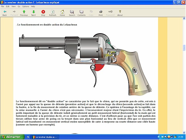 Le revolver Lefaucheux double action expliqué - ebook Im-09