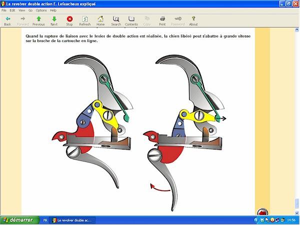 Le revolver Lefaucheux double action expliqué - ebook Im-10