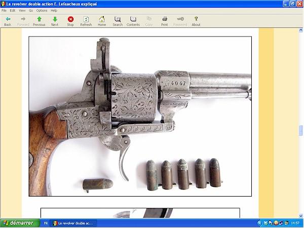 Le revolver Lefaucheux double action expliqué - ebook Im-12