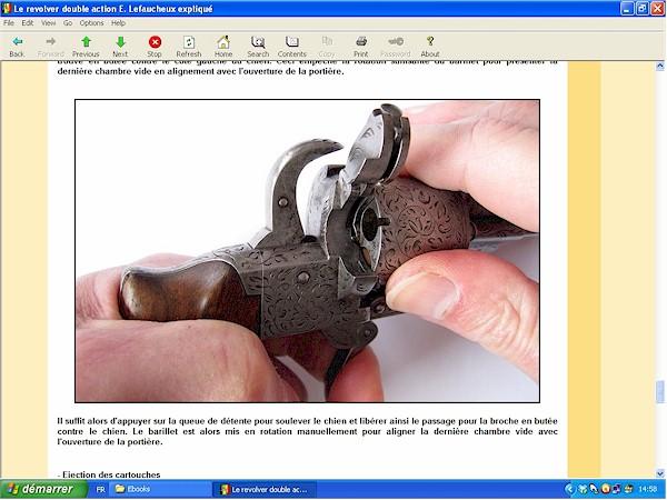 Le revolver Lefaucheux double action expliqué - ebook Im-13