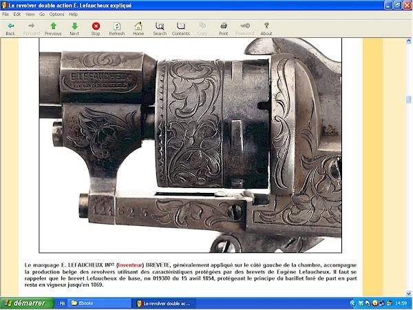Le revolver Lefaucheux double action expliqué - ebook Im-16