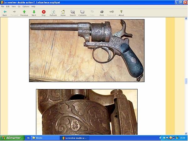 Le revolver Lefaucheux double action expliqué - ebook Im-18