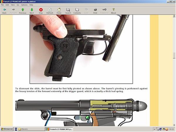 LE FRANCAIS pistol
