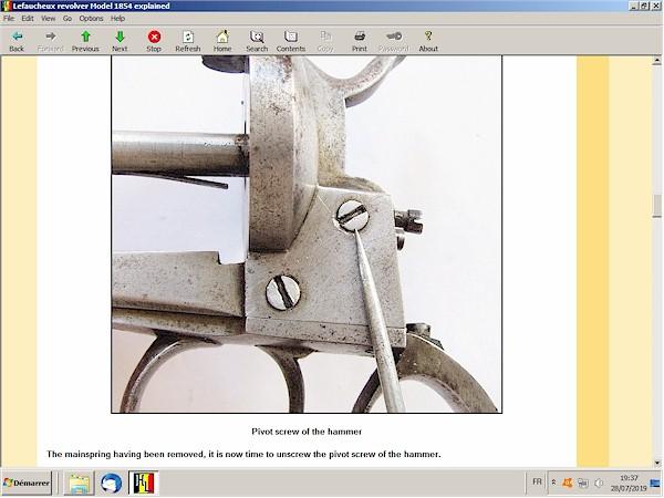 Lefaucheux revolver 1854 explained