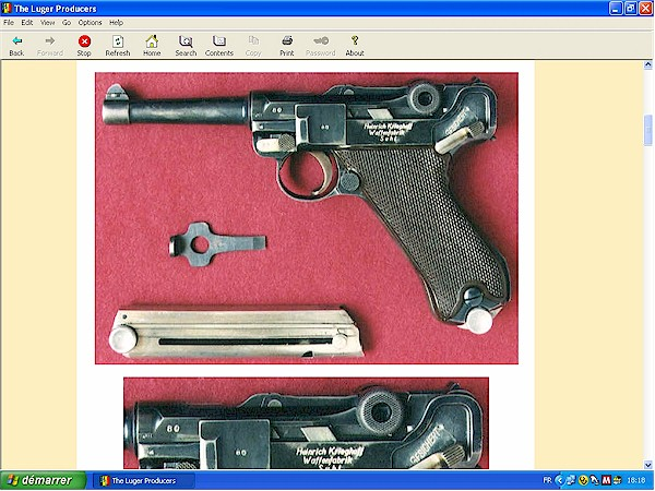 Luger Erfurt Vickers Simson Mauser