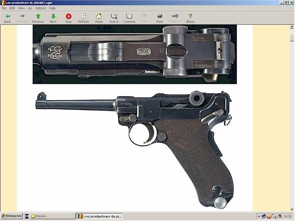 Les producteurs du pistolet Luger
