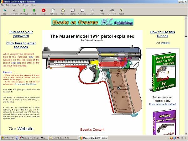 Mauser pistols Models 1910 - 1914 - 1934 explained | The