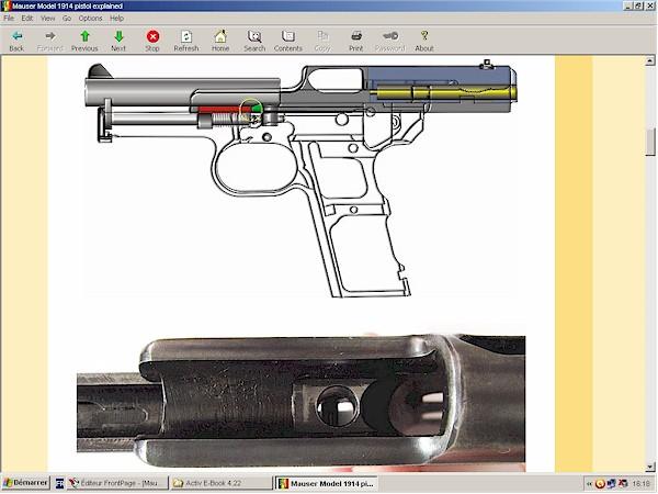 Mauser pistol model 1910 1914 1934