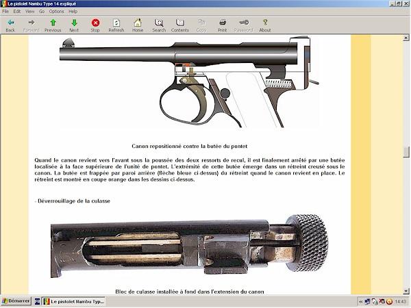 pistolet Nambu 14