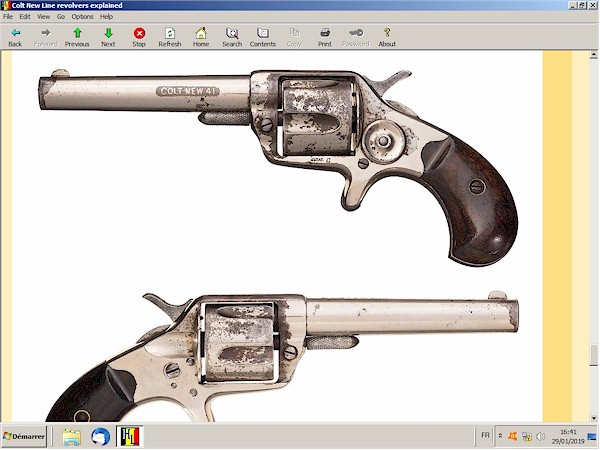 Colt New Line revolvers explained