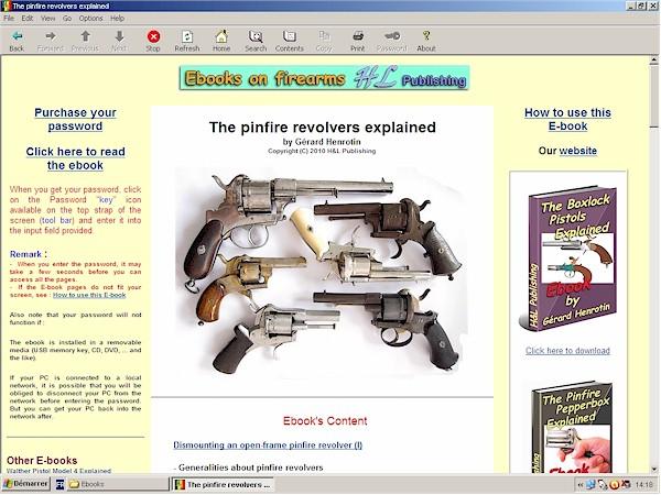 pinfire revolvers
