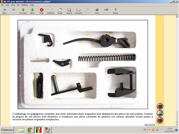 Le système SFS pour pistolets Colt expliqué
