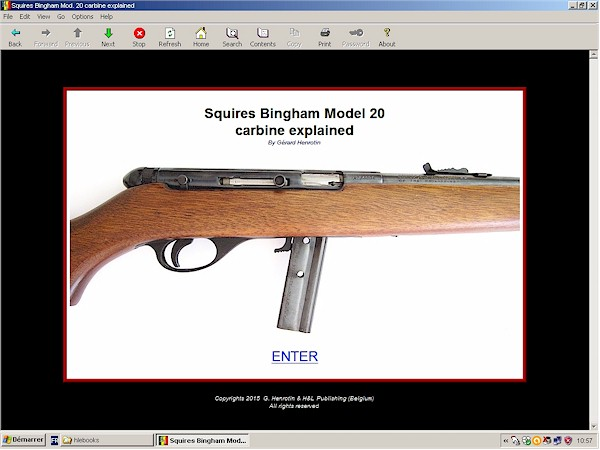 Squires Bingham Model 20 carbine in caliber .22 LR
