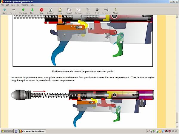 carabine Squires Bingham modèle 20