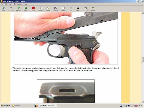 Steyr 1912 pistol (Steyr Hahn)